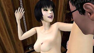 J'ai dit mauvais droits de sélection hentai (jeux porno 3d hmv)