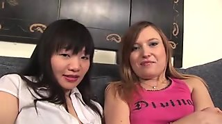 Japanese Lesbo (We met in high school and keep in touch)