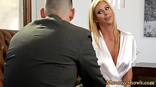 Classy milf sixtynines with her stepdaughter