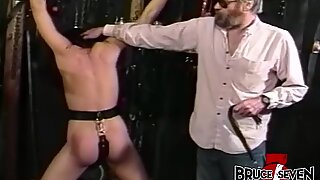 Muscular Redhead Latina With Fake Tits Masturbates On Cam