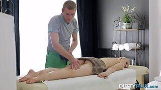 Dirty Flix - Oil massage with deep orgasm