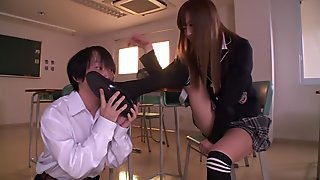 Amazing Japanese girl Ayumu Sena in Crazy JAV censored Small Tits, Blowjob clip