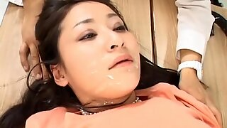 Asian women dominated