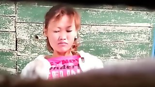 Asian public wc piss