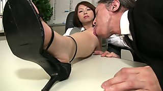 She will do anything to satisfy her boss