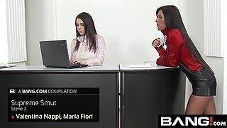 Verleidelijke Italiaanse Valentina Nappi Compilatie