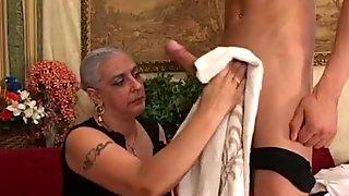 Gal massaged  banged japanese