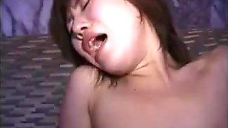 jap beautiful amteur girl cum faceal