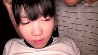 Jap trio schoolgirl bonded and tits creamed